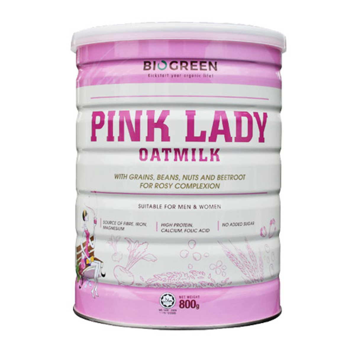Pink Lady Oatmilk