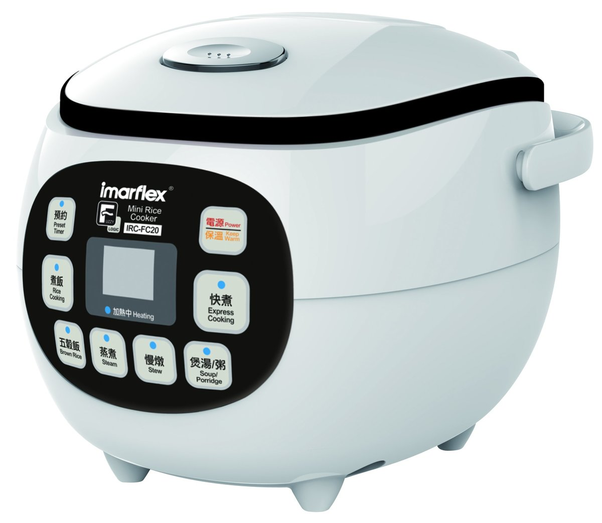 Imarflex 0.8L Fuzzy Logic Rice Cooker IRC-FC20