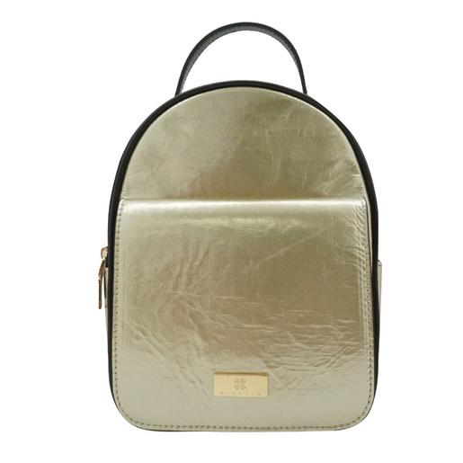 金屬色迷你背包