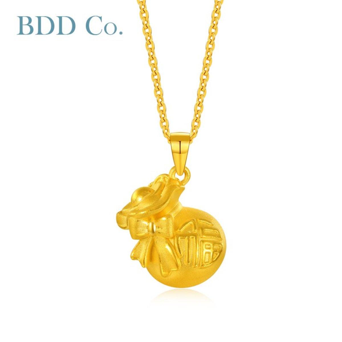 黃金吊墜 3D硬金 福袋吊墜