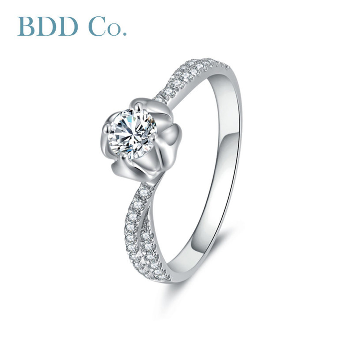 18k White Gold Women Ring