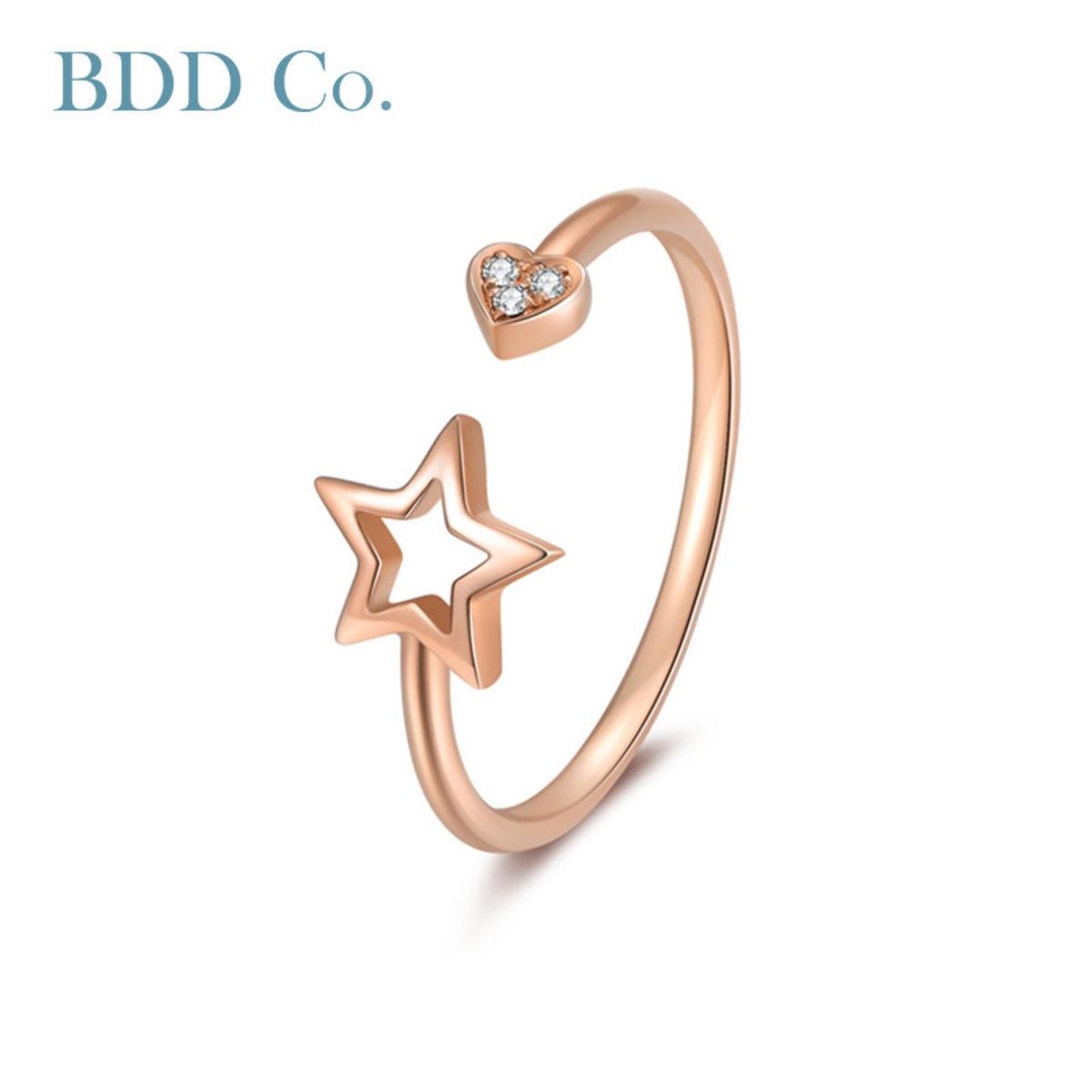 【BDD-Co.】18K金鑽石戒指