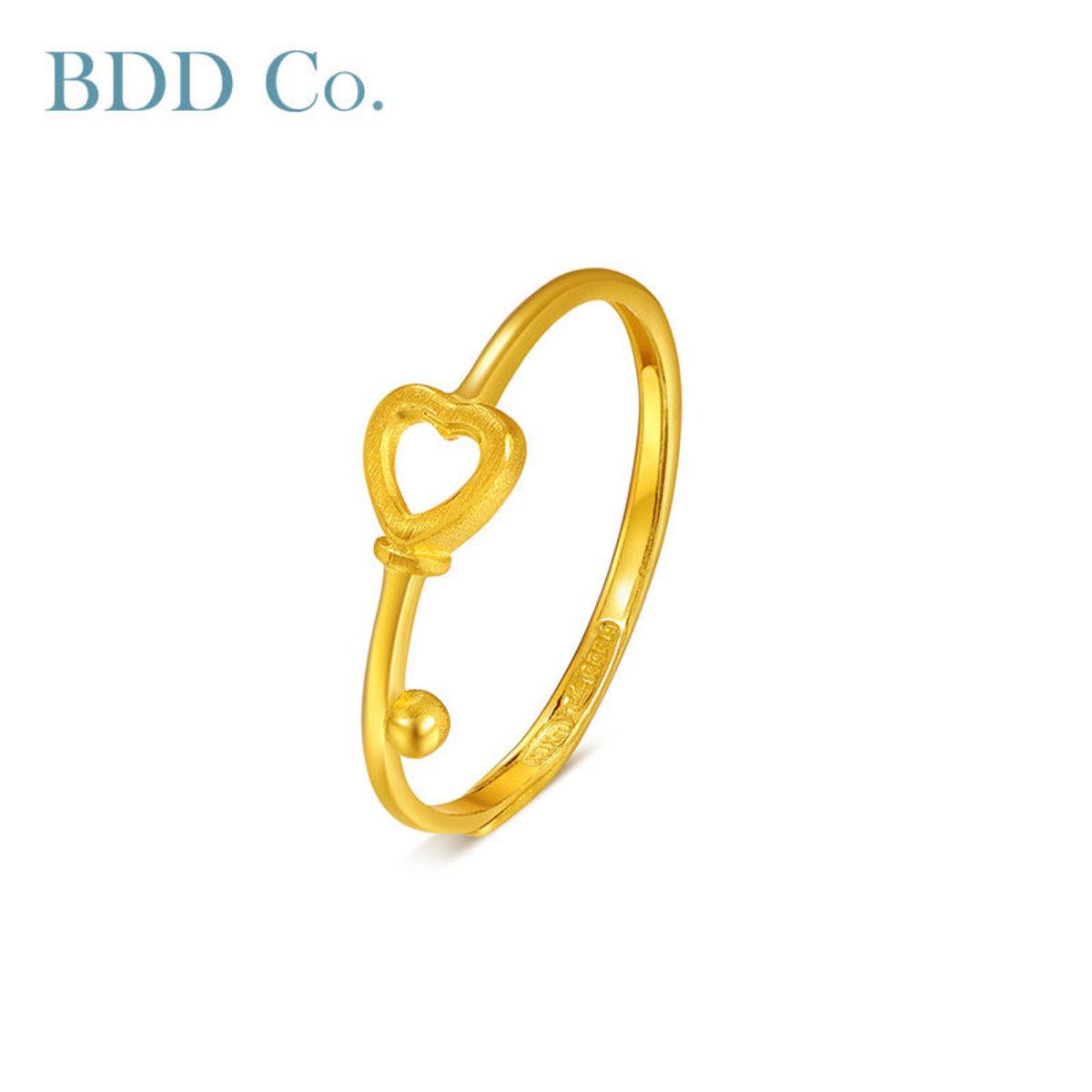 Au999 Gold Women Ring