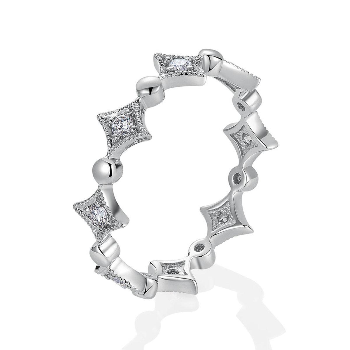 18K White Gold Diamond Ring (0.18 ct. tw.)