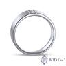 Platinum PT950 Modern Channel Diamond Ring (0.111 ct. tw.)
