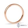 18k Rose Gold Classic Wedding Ring (4mm)