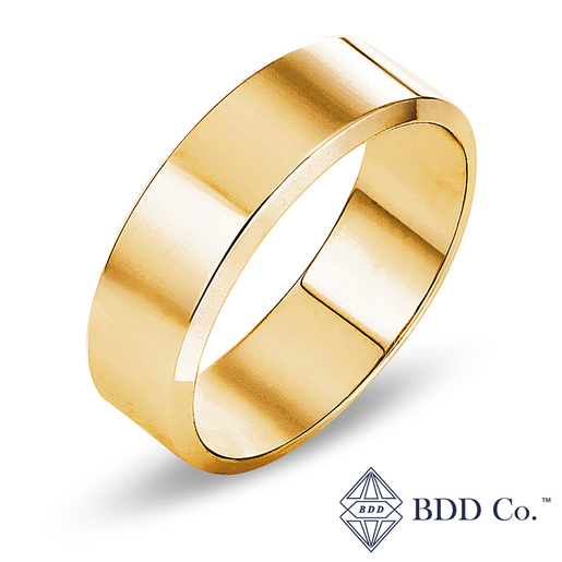 18k Yellow Gold Classic Wedding Ring (7mm)