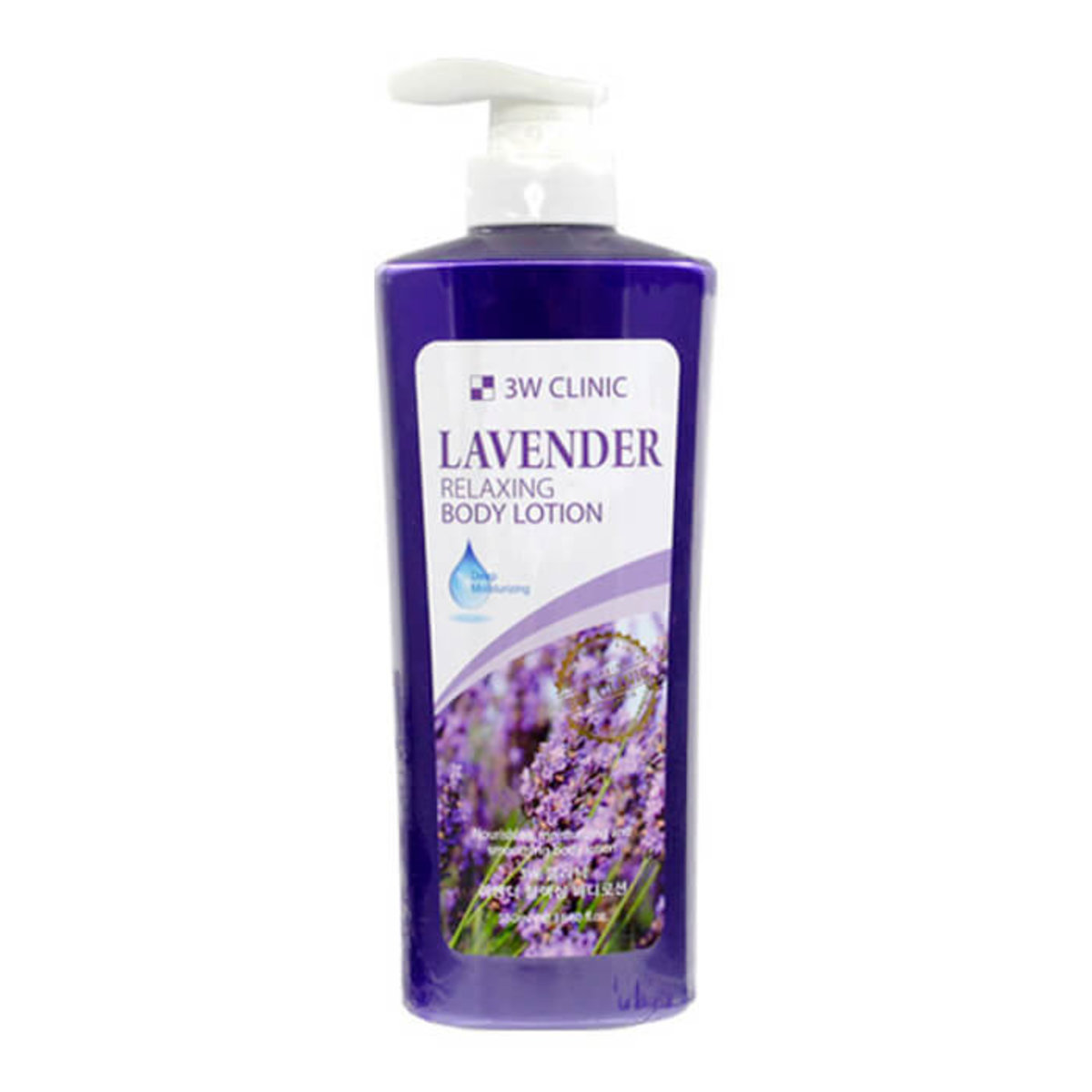 3W Clinic - Lavender Relaxing Body Lotion 550ml