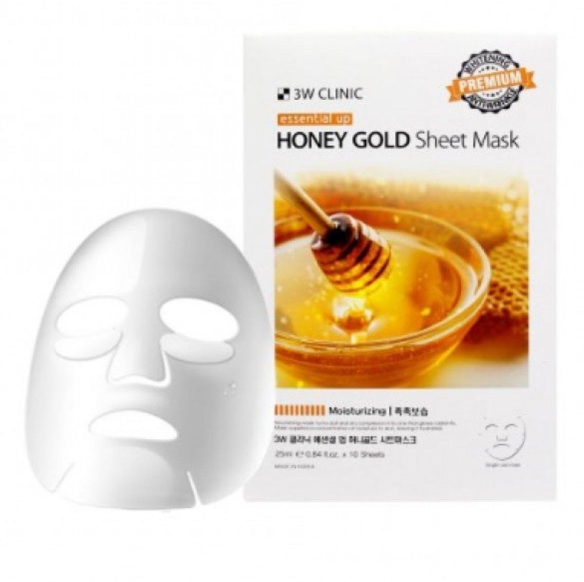 Essential Up Sheet Mask -HONEY GOLD (10pcs)