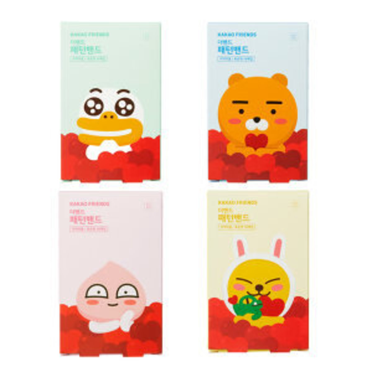 ATEX - Kakao Friends 膠布 (普通型) (16片裝) **貨品顏色將隨機發出** [平行進口]