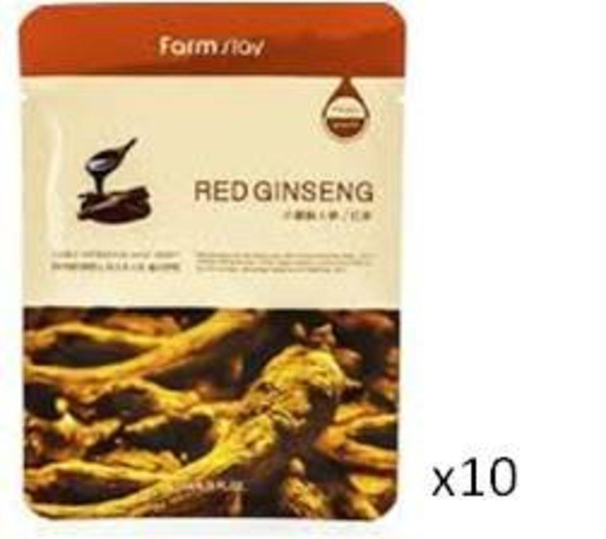 Red Ginseng Mask (10pcs)