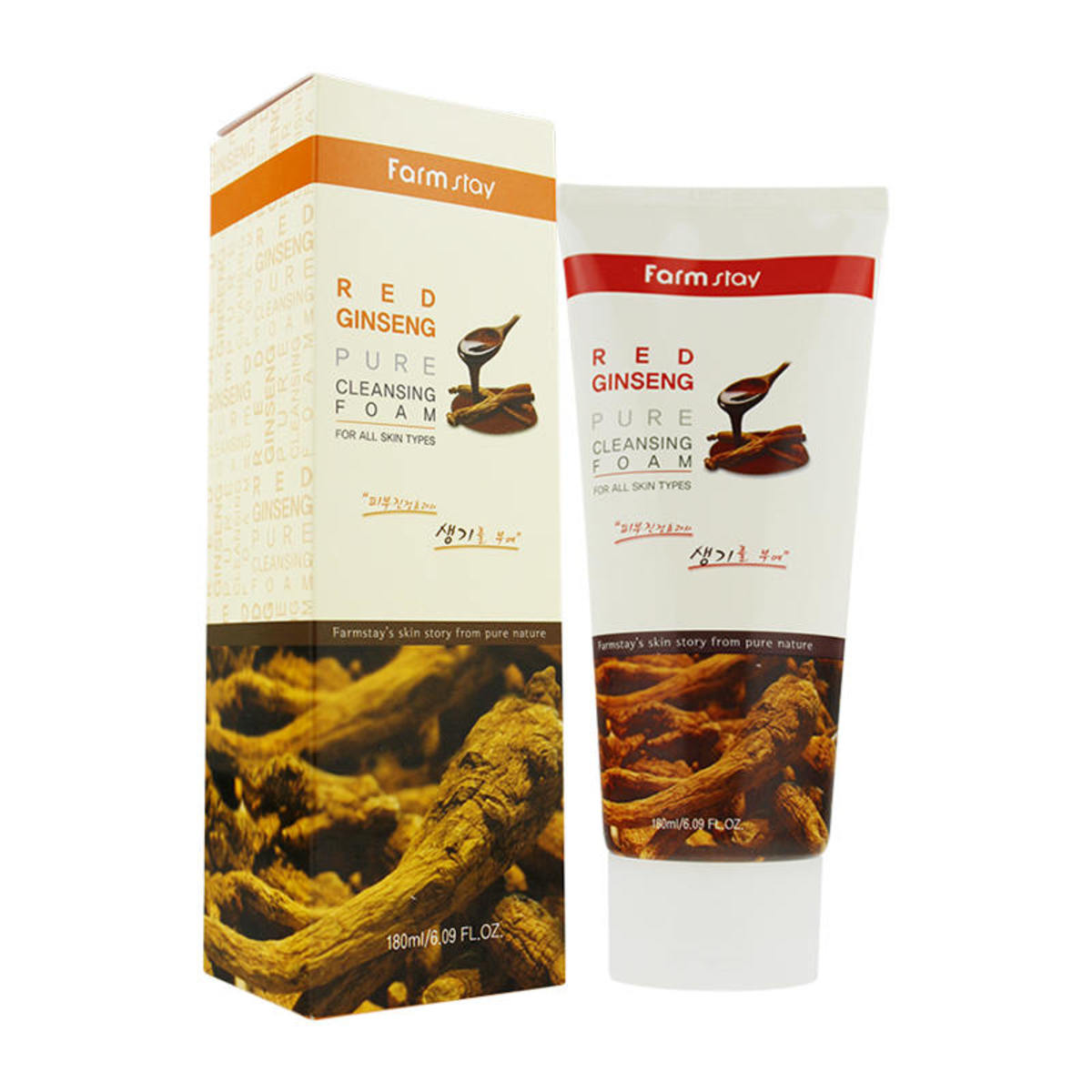Red Ginseng Pure Cleansing Foam 180ml
