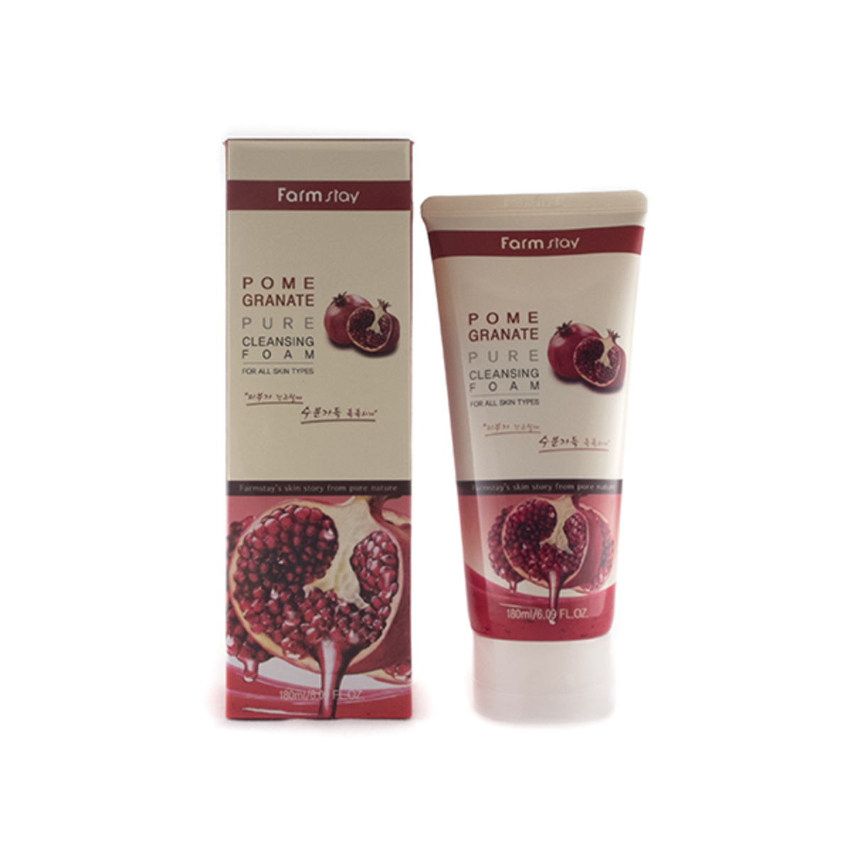 Pomegranate Pure Cleansing Foam 180ml
