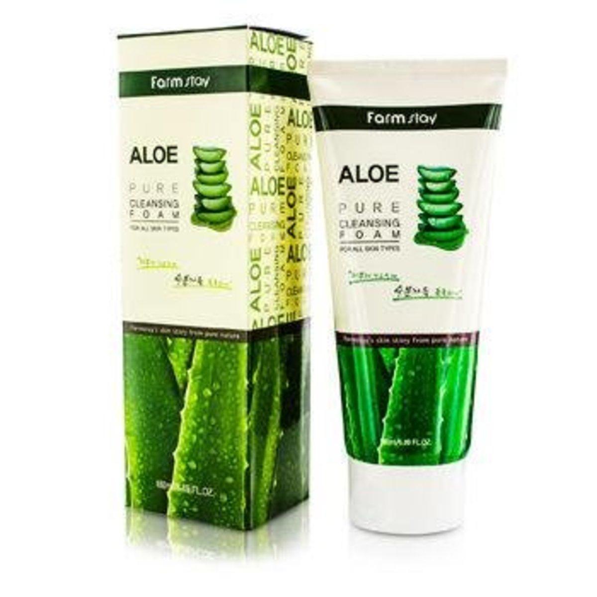 Aloe Pure Cleansing Foam 180ml