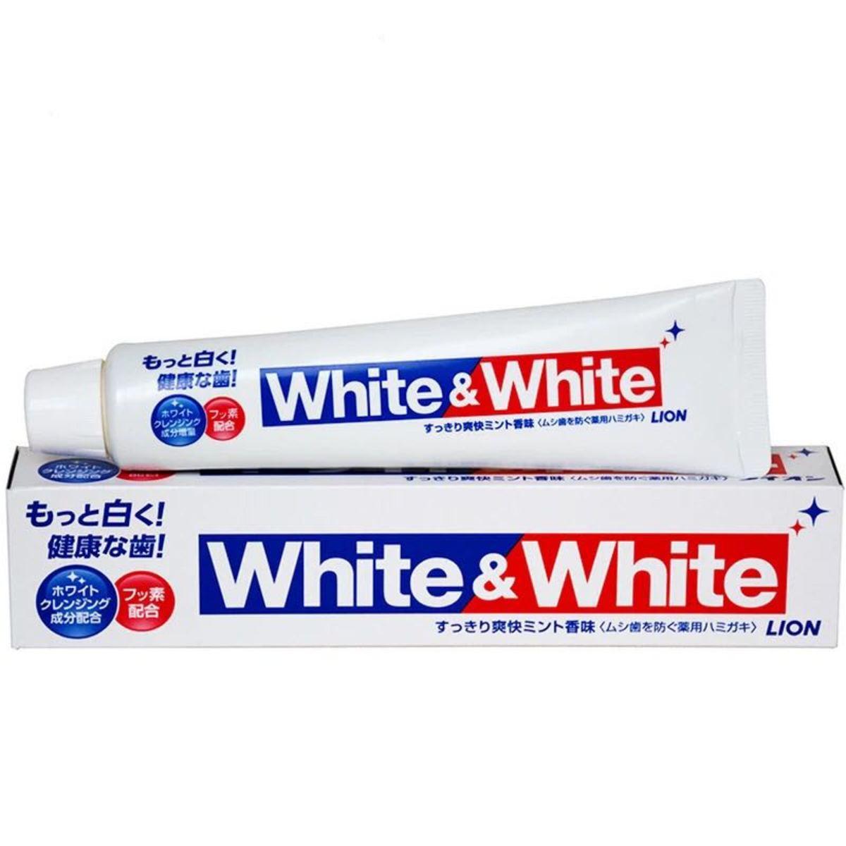獅王特效美白牙膏150g