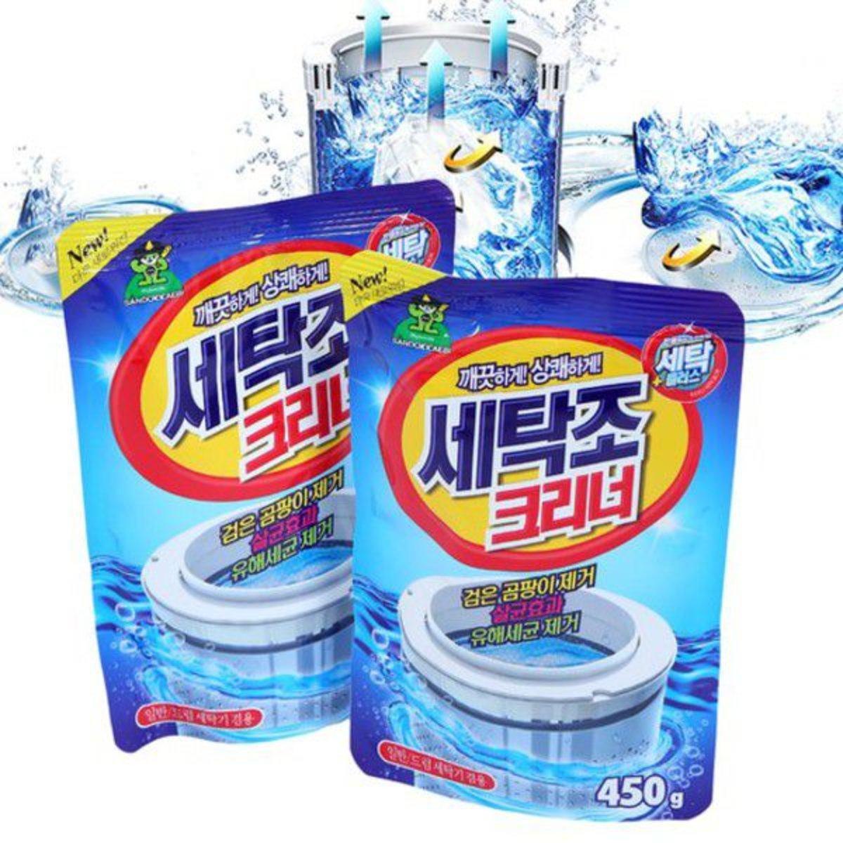 洗衣機槽清潔粉 450g x2