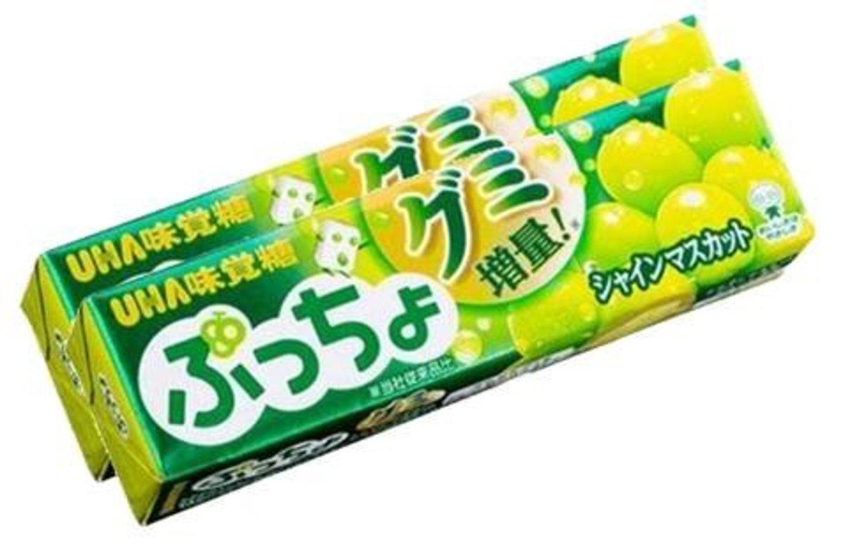 UHA 味覺糖 - 麝香提子味 (10粒裝) x2