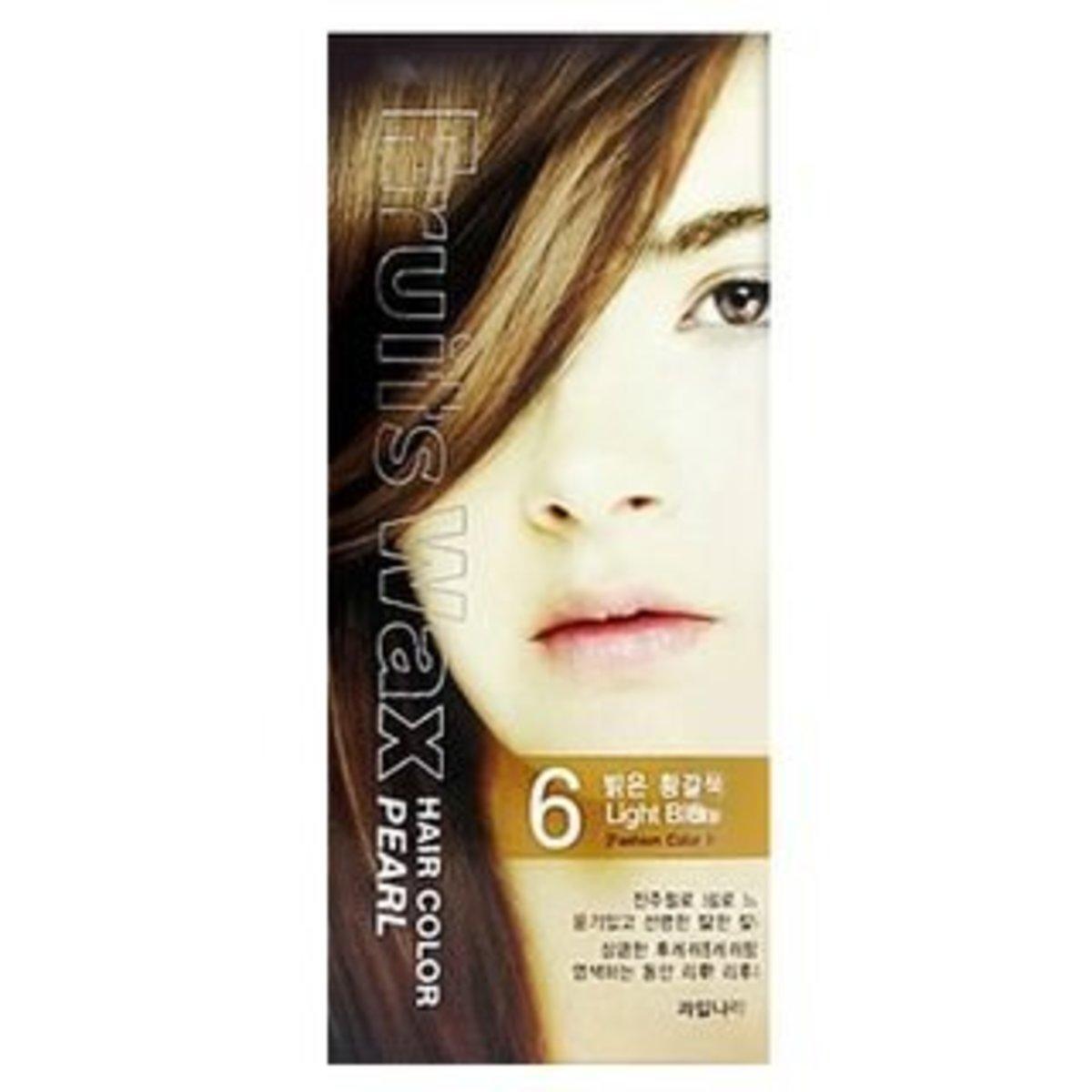 Fruit Wax Hair Color Pearl 染髮劑 - #6 淺金色 60g [平行進口]