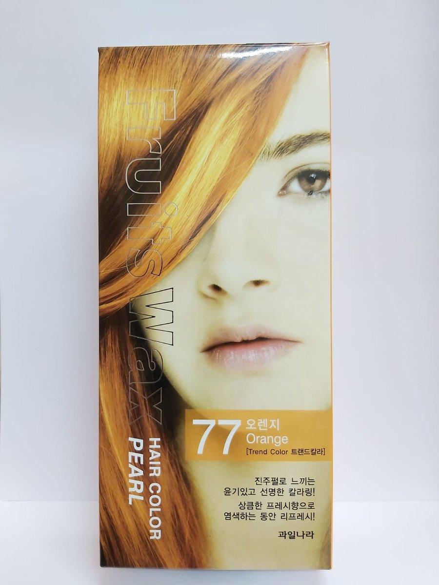 Fruit Wax Hair Color Pearl 染髮劑 - #77 橙色 60g [平行進口]
