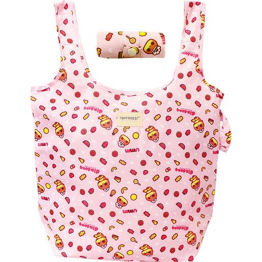 夢幻粉紅癲噹環保購物袋 A06017