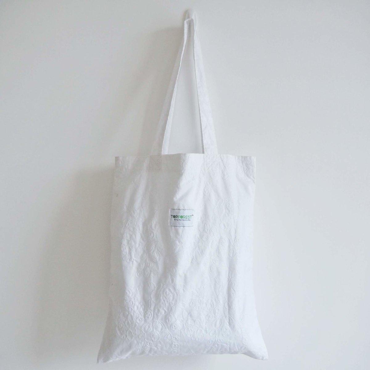 甜美蕾絲純棉手提袋 B06017