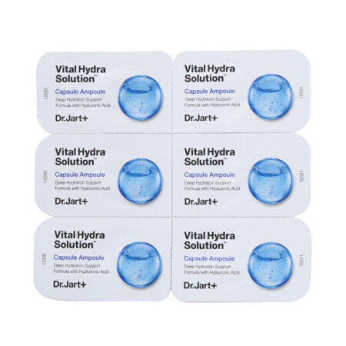 活力水潤膠囊安瓶 (小藍丸) 2ml x 6粒