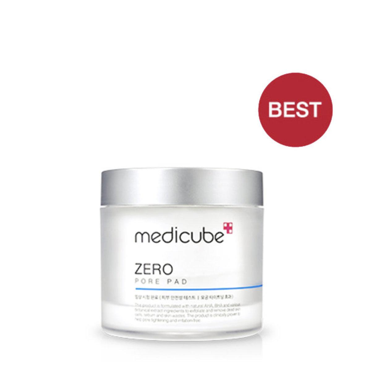 Medicube 收毛孔去角質清潔棉(一盒70片)(神之棉花保濕爽膚棉)