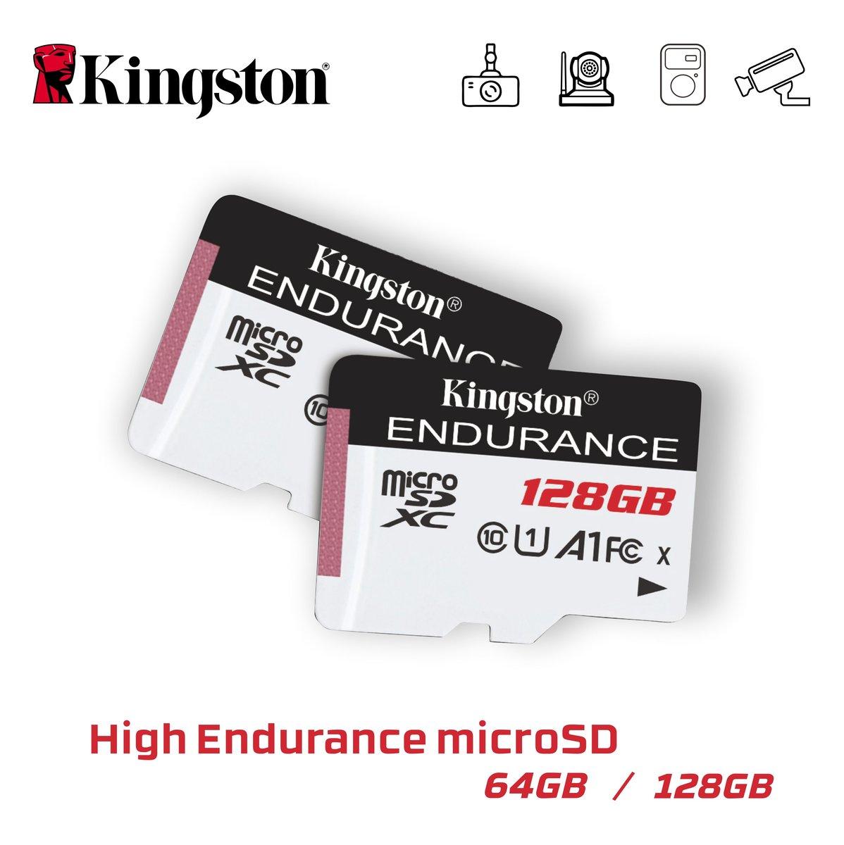 High Endurance microSD Card 128GB 記憶咭