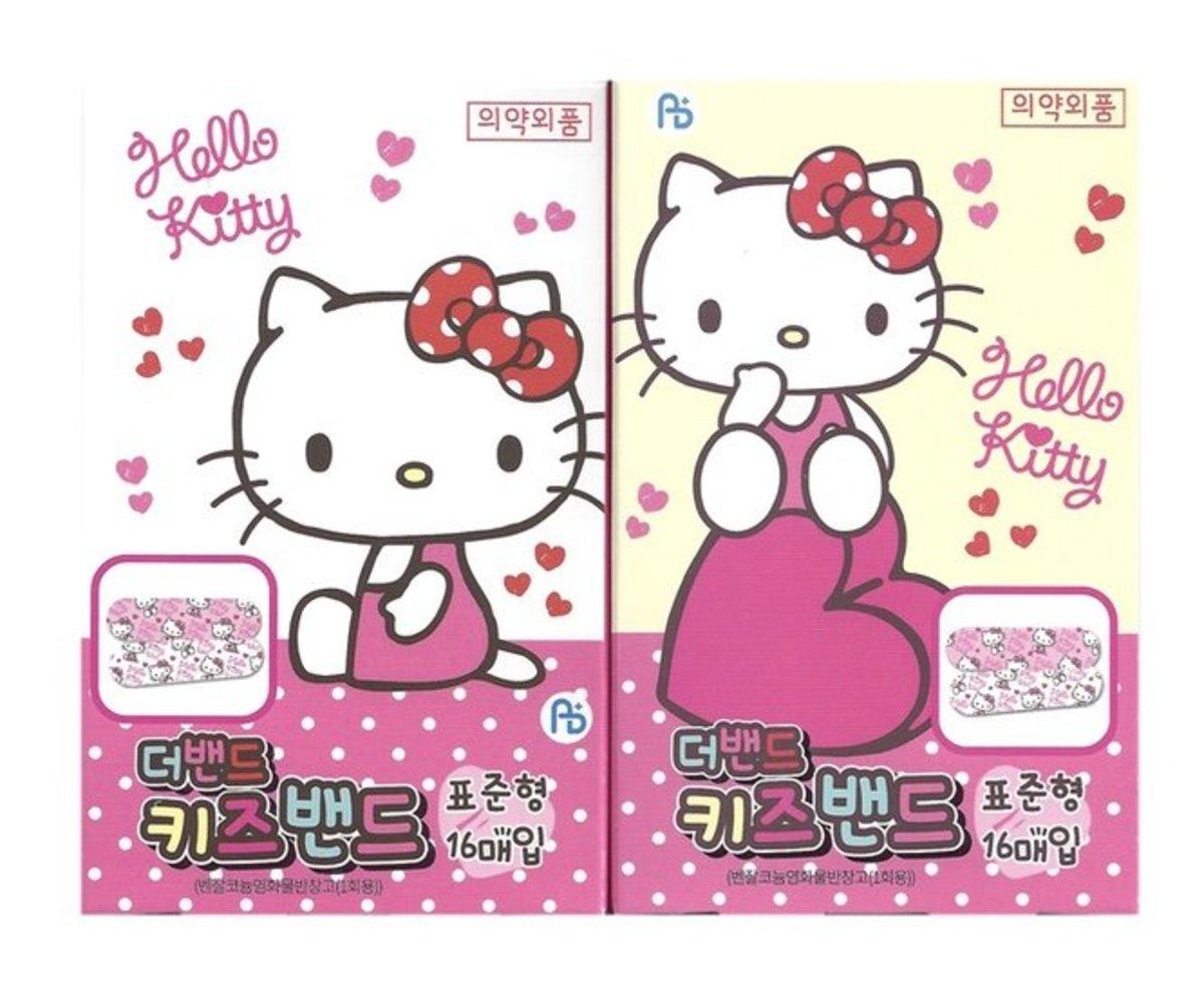 Hello Kitty 膠布 (標準) 16片裝