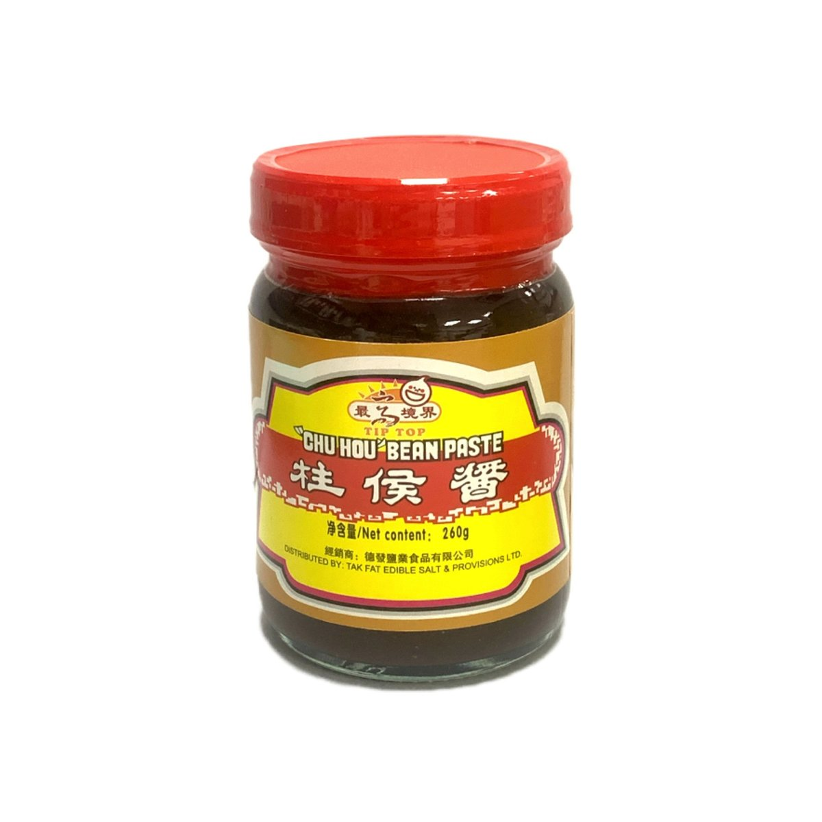 "Tip Top ""Chu Hou"" Bean Paste (260g)"