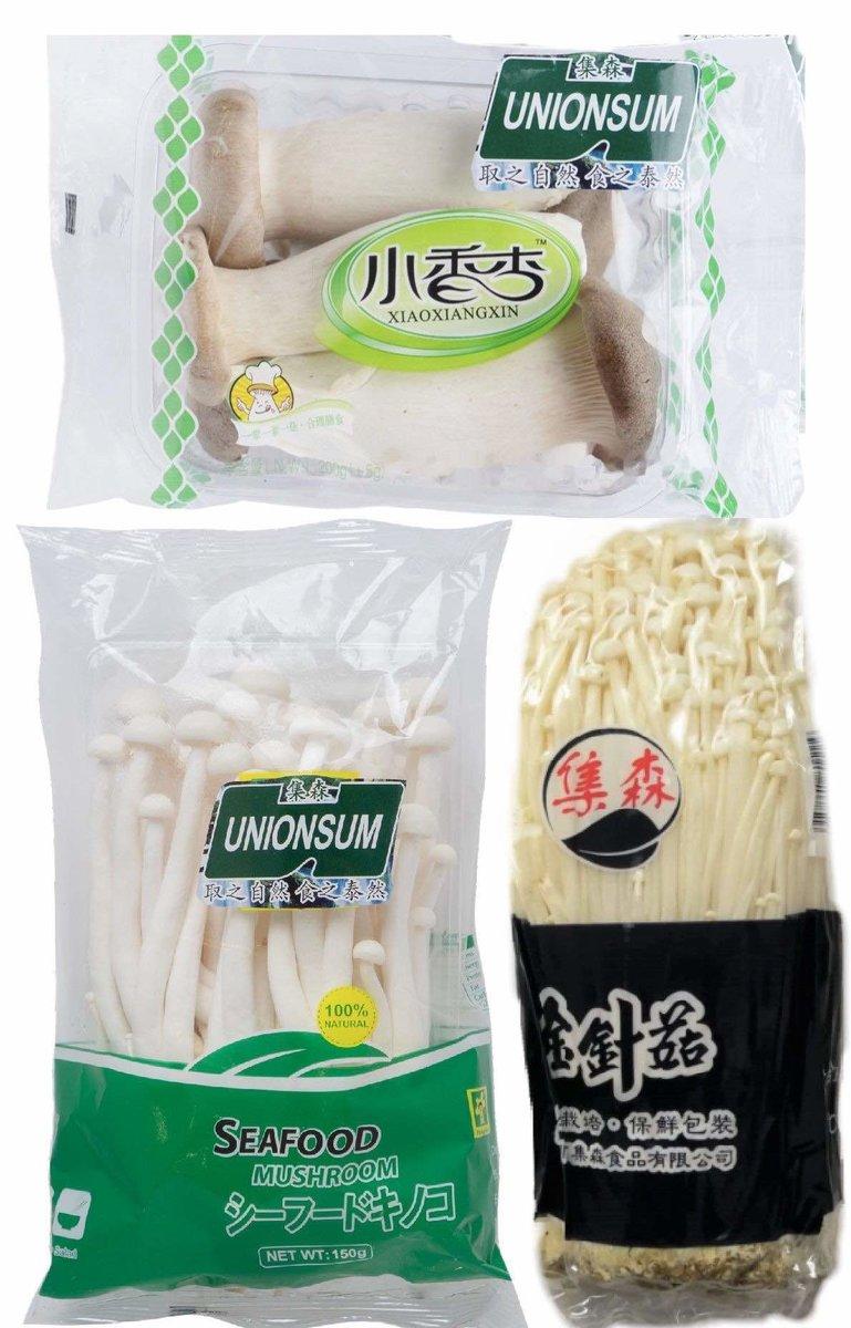 Mixed Mushroom (3Packs around 500g) (Chilled)