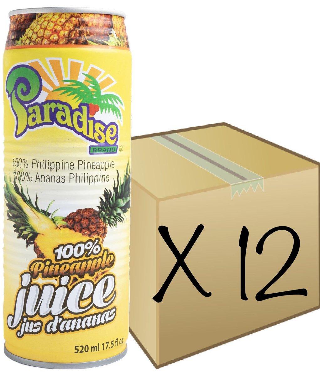 [FULL CASE] 100% Pineapple Juice