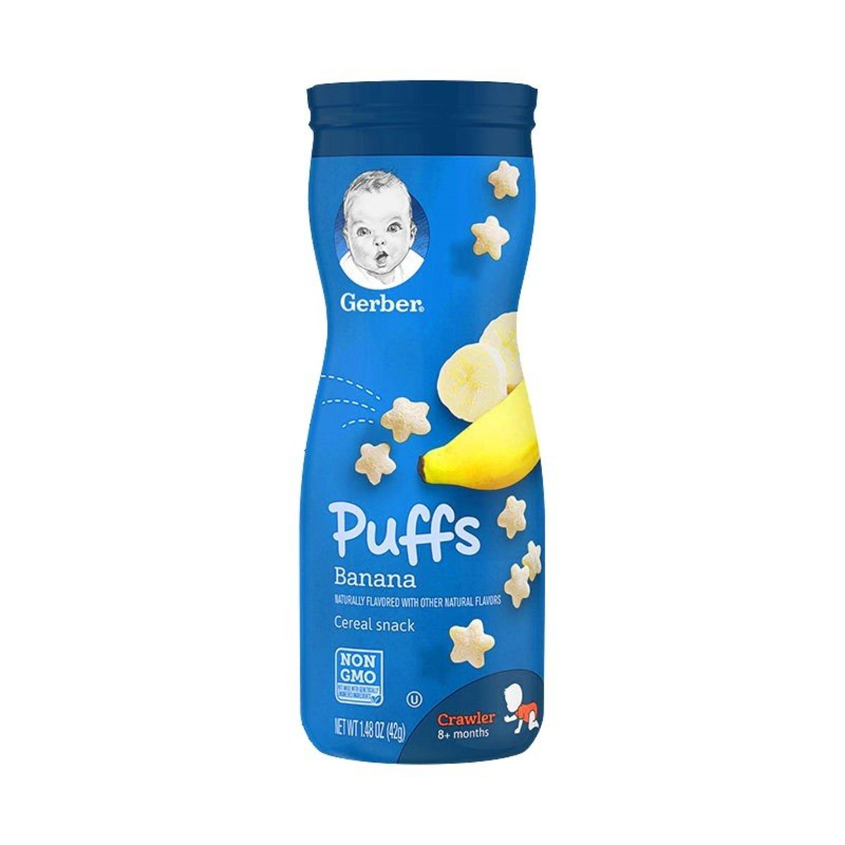 Banana Puffs Cereal Snack 42g(8+months)(parallel import)