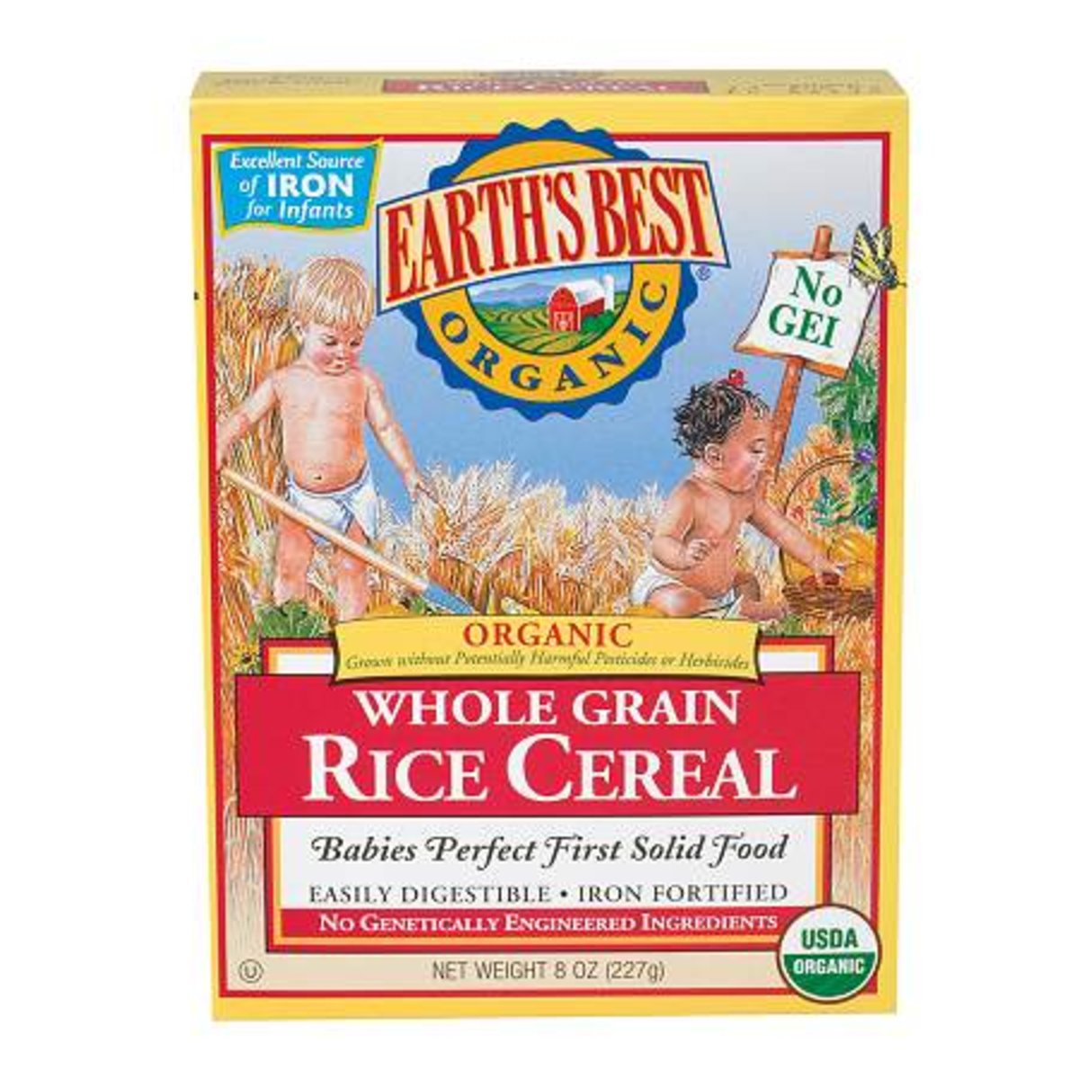 Whole Grain Rice Cereal (Red) 227g