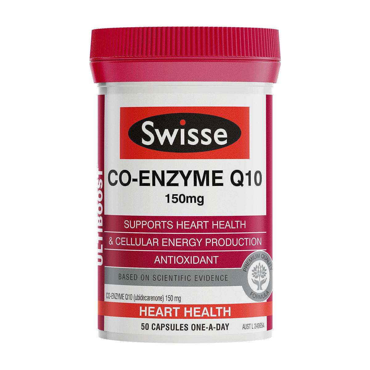 Swisse - Fumei Q10 Capsule 50 Capsules(parallel import)