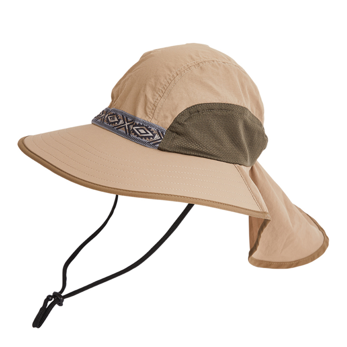 民族風闊邊防曬帽 - Escape Hat