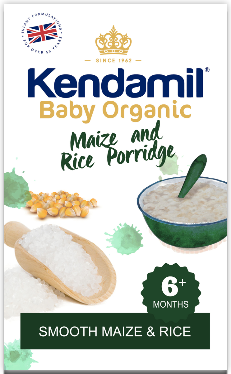 Kendamil Organic Maize & Rice Porridge 150g
