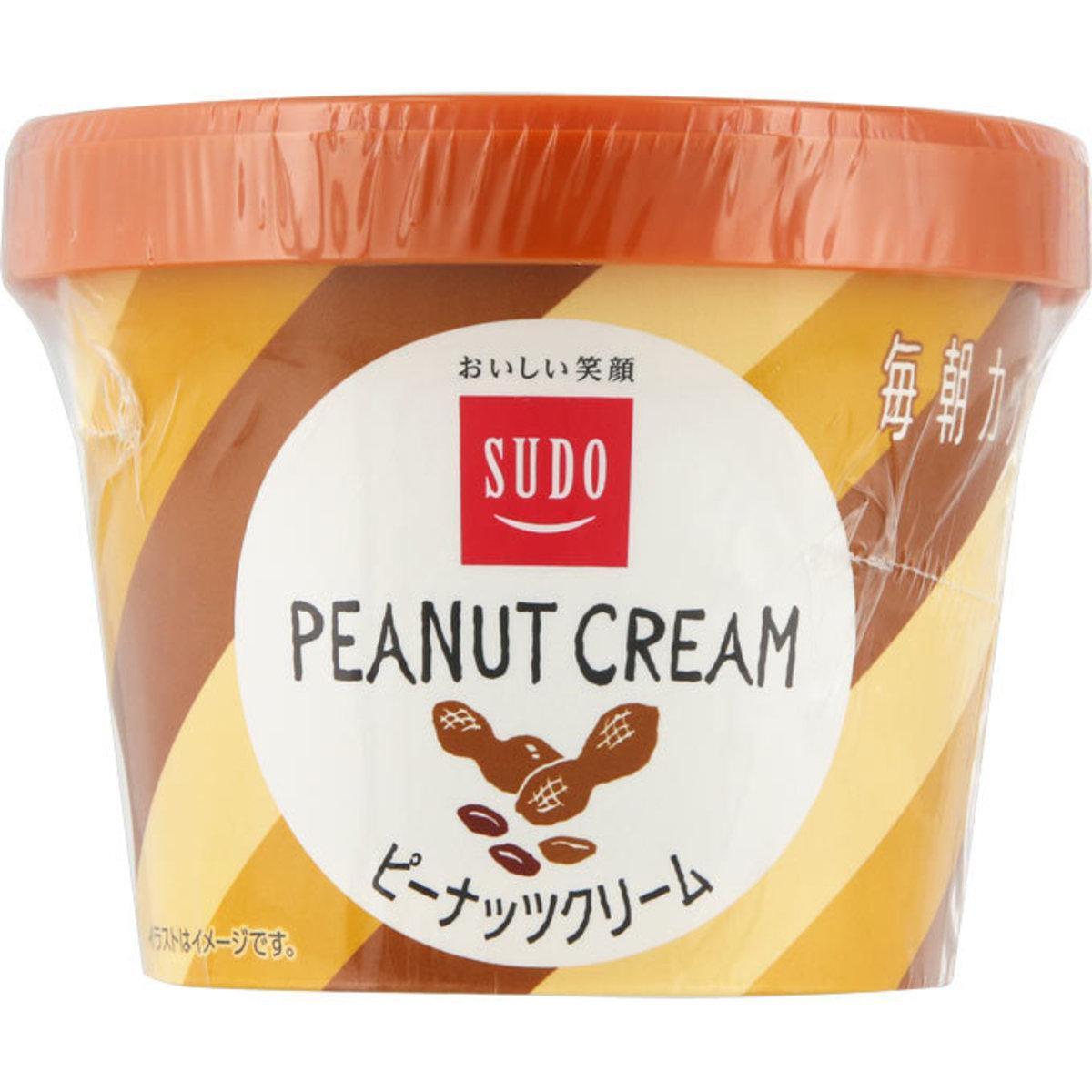 SUDO 奶油花生果醬|135g|原裝日本|輕巧方便|