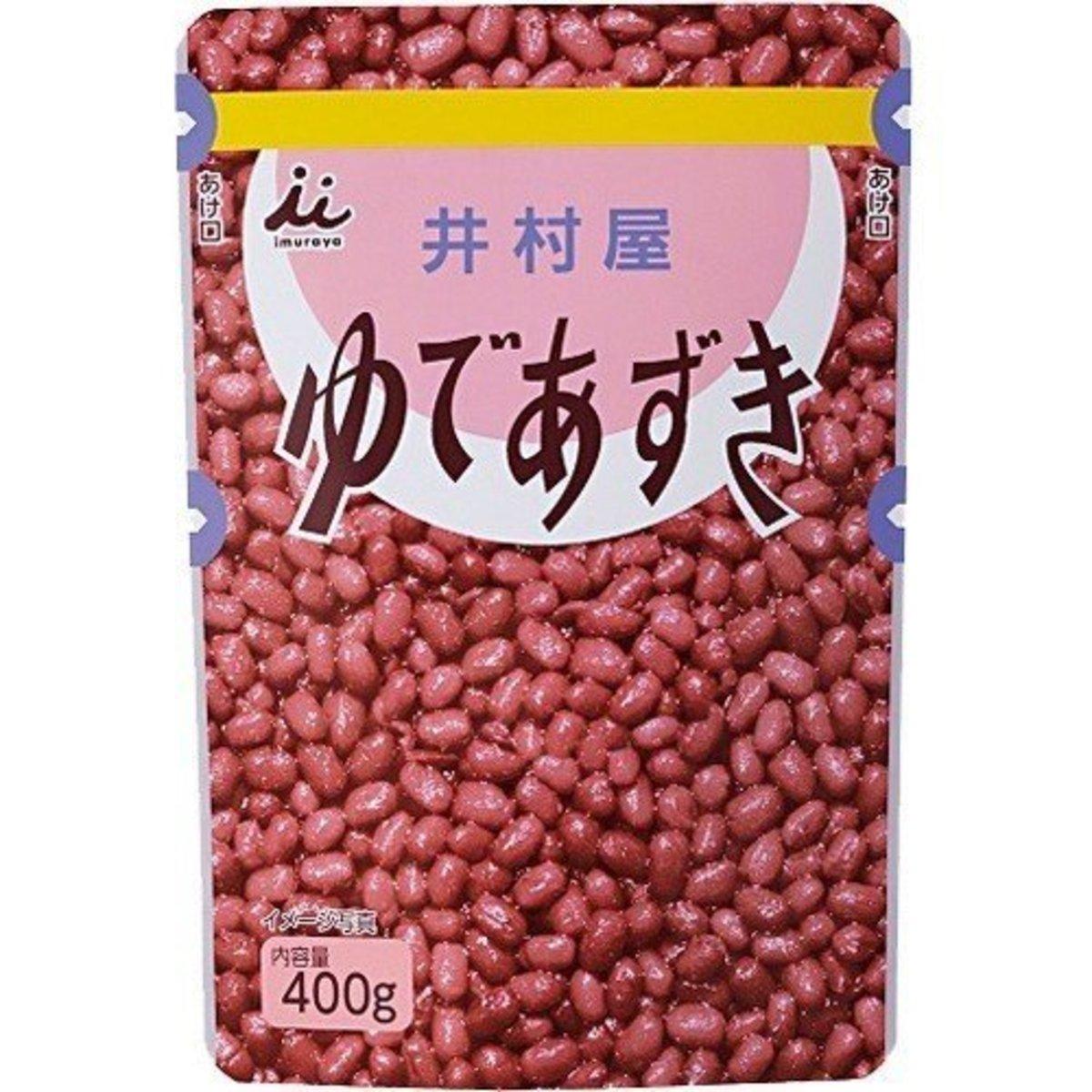 100%北海道 袋裝速食粒粒紅豆蓉 紅豆餡 日式紅豆年糕湯  400g