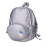MoonRock Play Fluffy Space Egg Backpack Large Silver