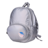 Fluffy Space Egg Backpack Small Silver