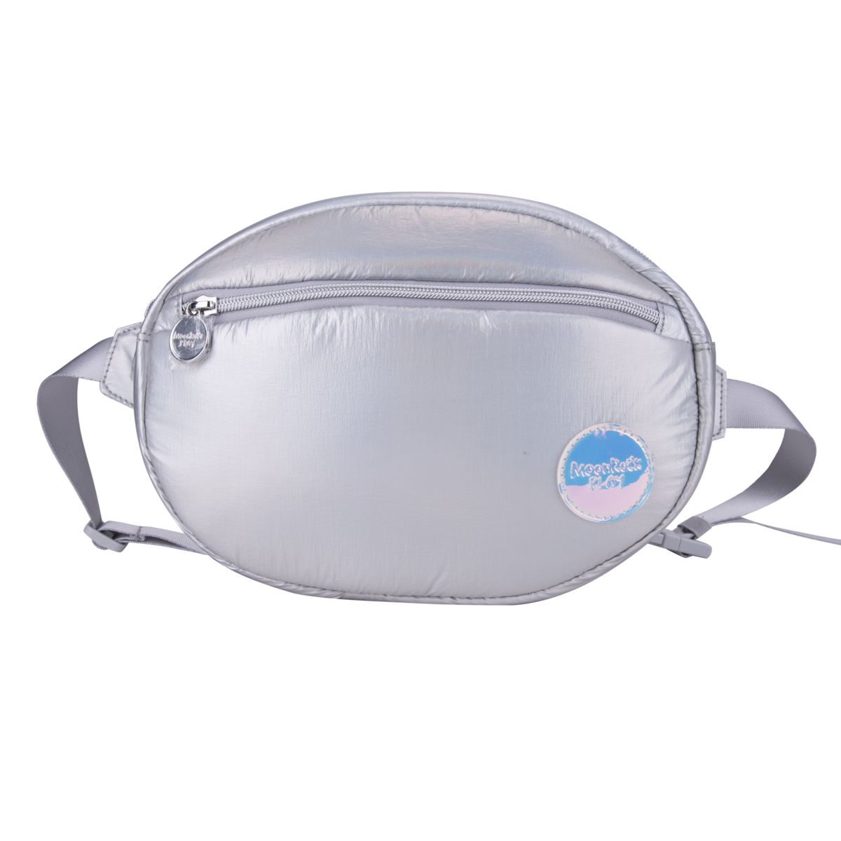 Fluffy Space UFO Belt Bag Small Silver