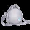 Fluffy Space Moon 銀色斜孭袋|成人及兒童均合用 獨特太空感物料 輕巧又舒適