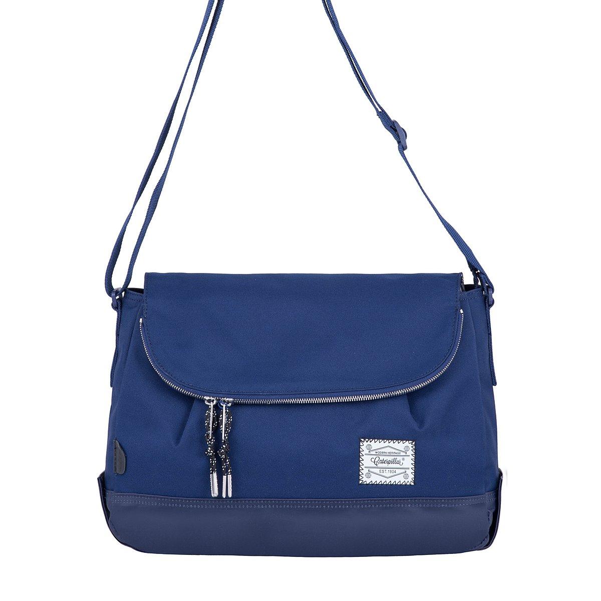 Essential Rebel Round Shoulder Bag (Navy)