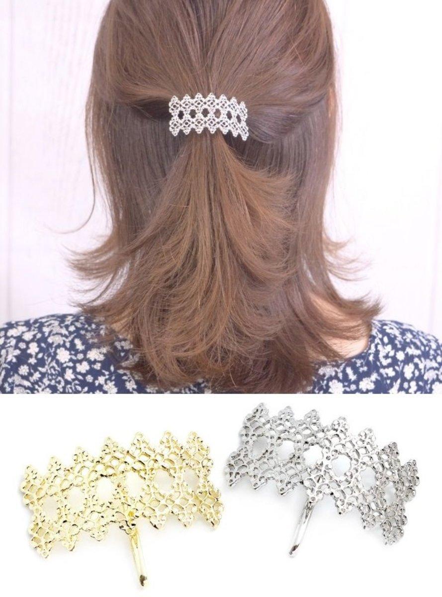 SIGONGAN Hair Clip / Hair Pin Accessory / Accessories 2020 New Style (Silver)
