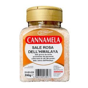 Cannamela 喜瑪拉雅山粉紅岩鹽 粉紅鹽/岩鹽 粗鹽 590克