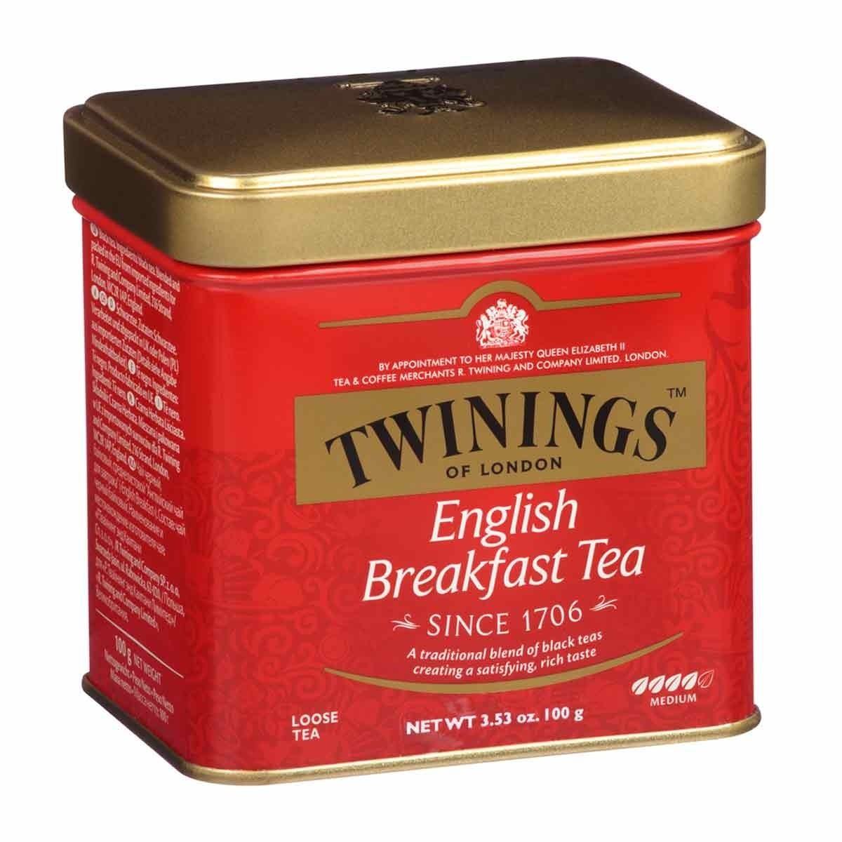 Twinings English Breakfast Tea - 100g