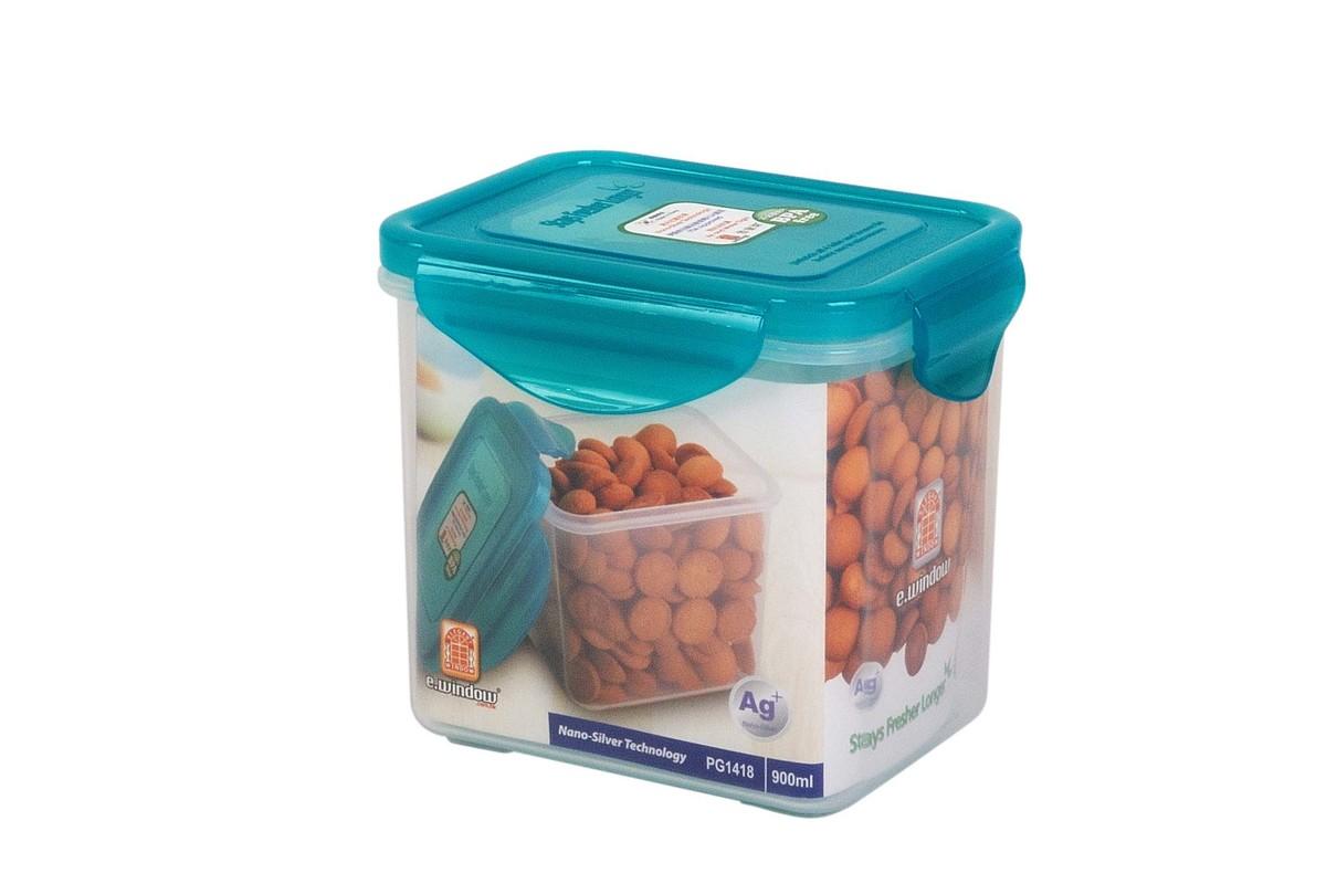 Nano Silver Airtight Container -Rectangular 900ml(PG1418)