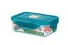 納米銀保鮮盒 -長方形有格 360ml(PG1425)