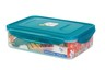 納米銀保鮮盒 -長方形有格 1.6L(PG1439)